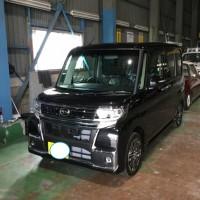 山崎様 タントカスタム新車