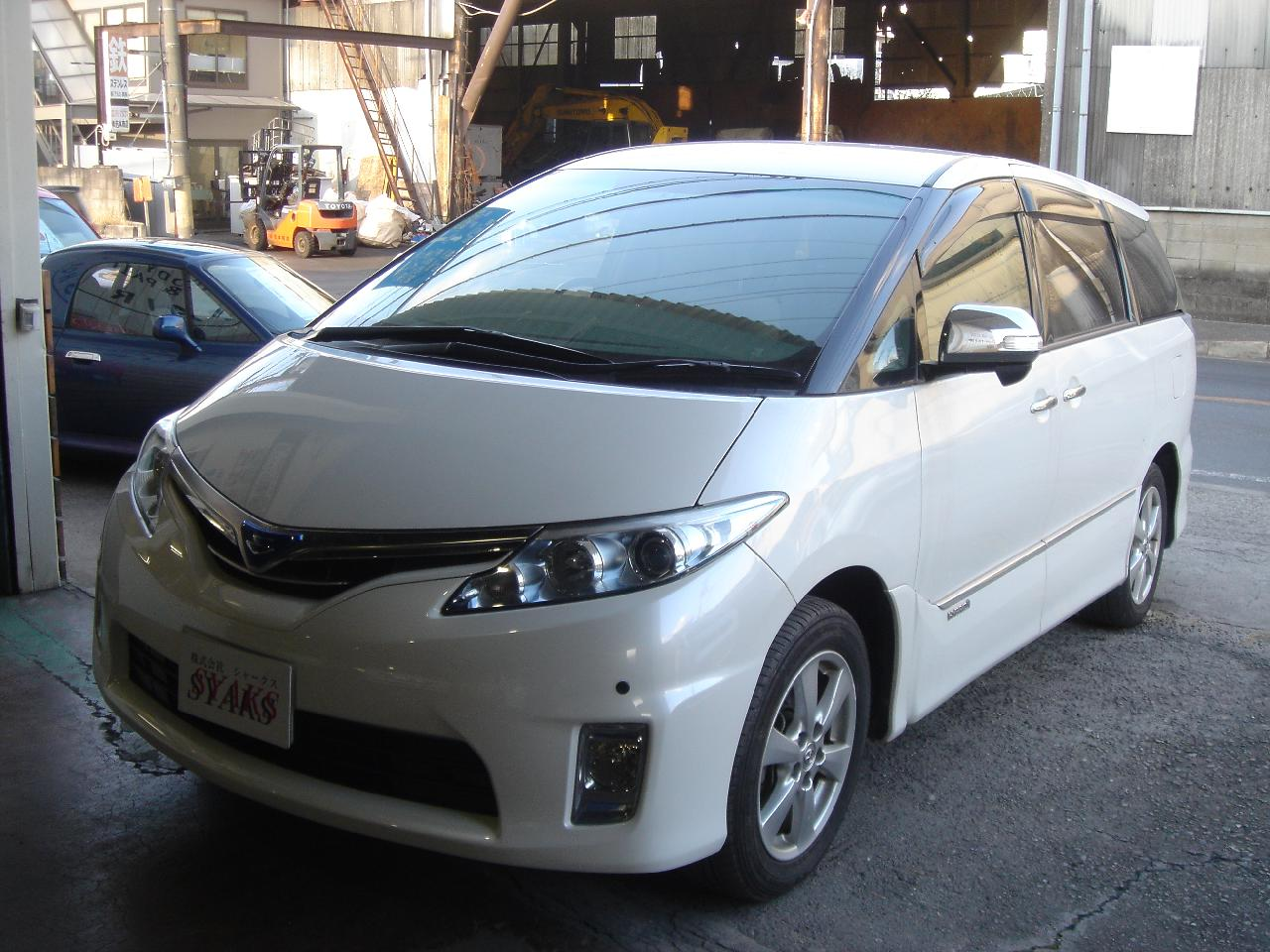 トヨタ エスティマハイブリッド 2.4 X 4WD