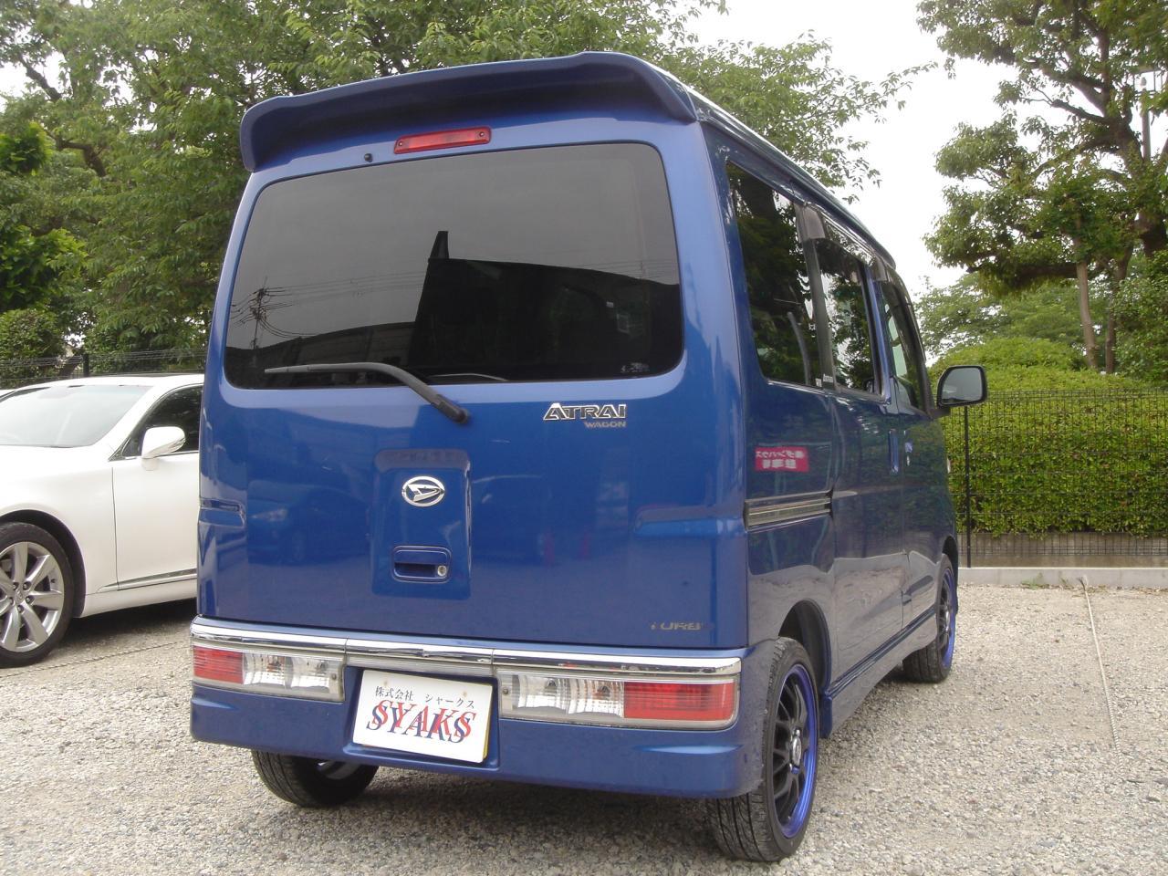 ダイハツ アトレーワゴン 660 カスタムターボR
